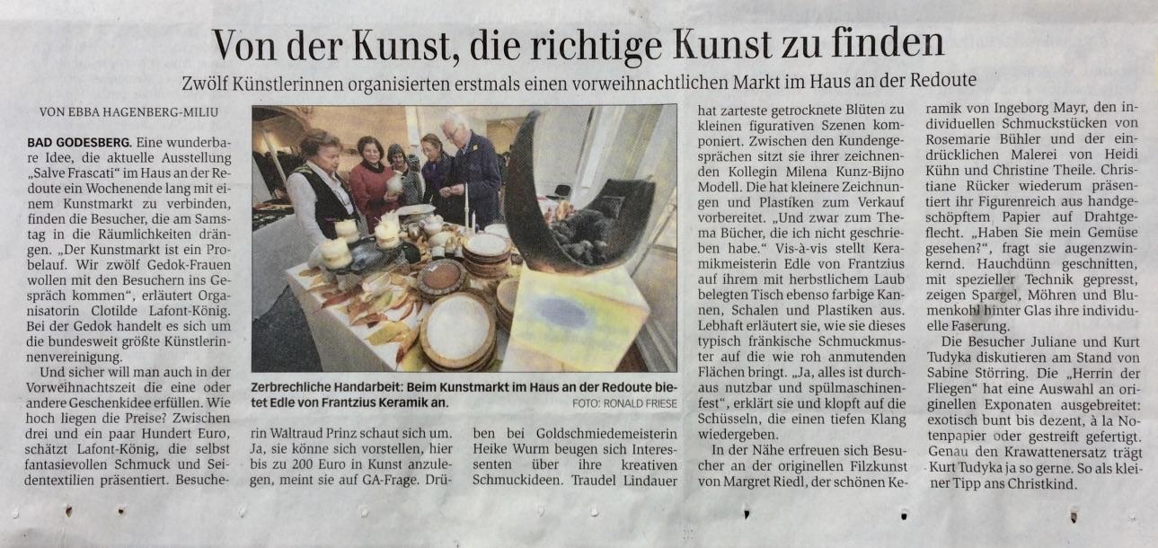 General Anzeiger Bonn 21.11.2016